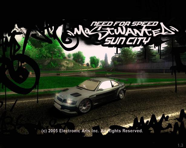 Скачать игру - Need For Speed Most Wanted Sun City (2011/RUS/MOD) .
