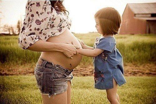 Я осталась одна беременная с ребенком